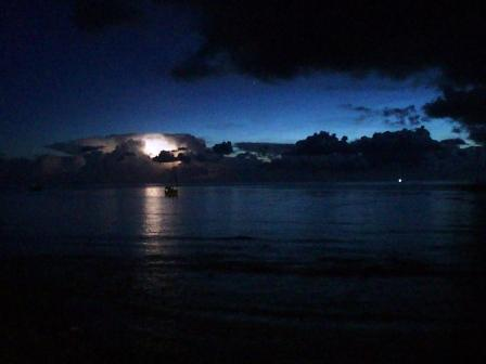 Lightening on Tioman